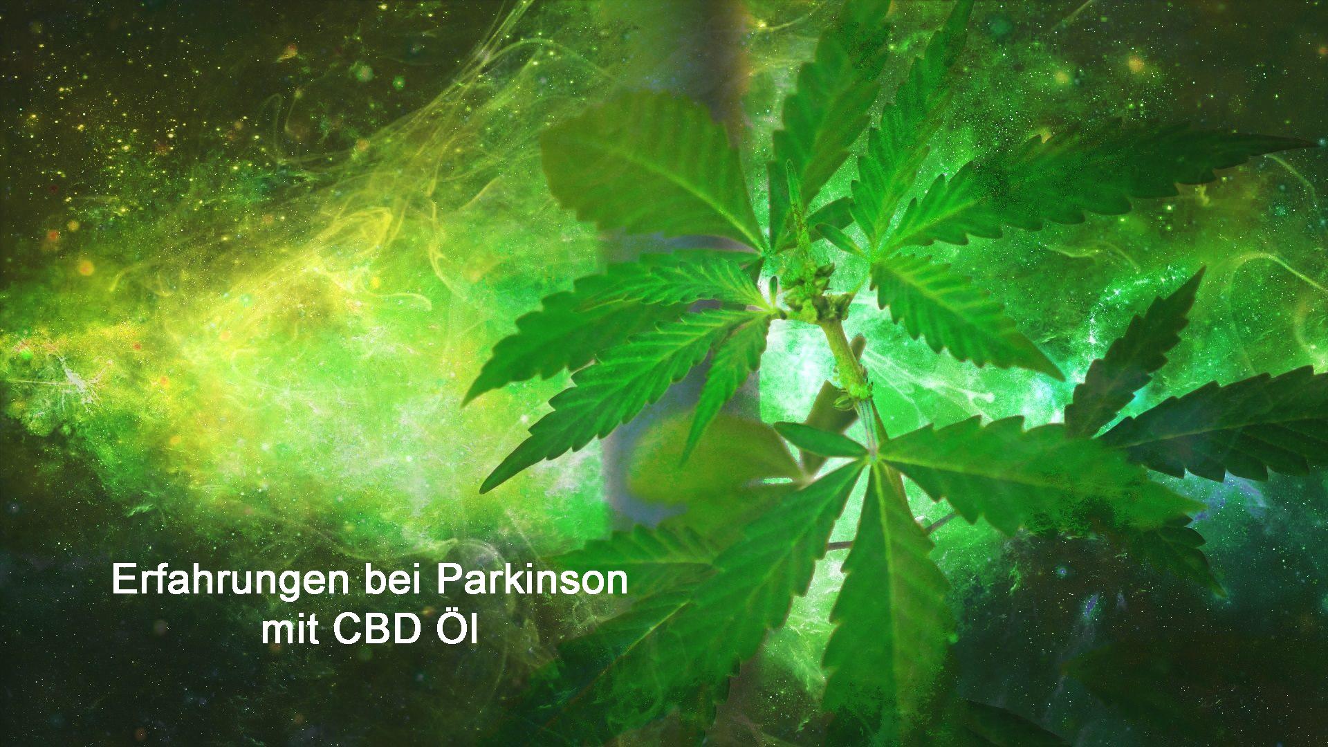 Erfahrungen mit CBD Öl bei Parkinson