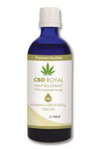 CBD Öl - beste Erfahrungen mit CBD Royal Hanf Bio Extrakt