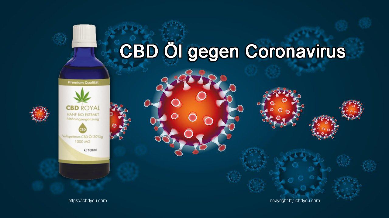 CBD Öl gegen Coronavirus