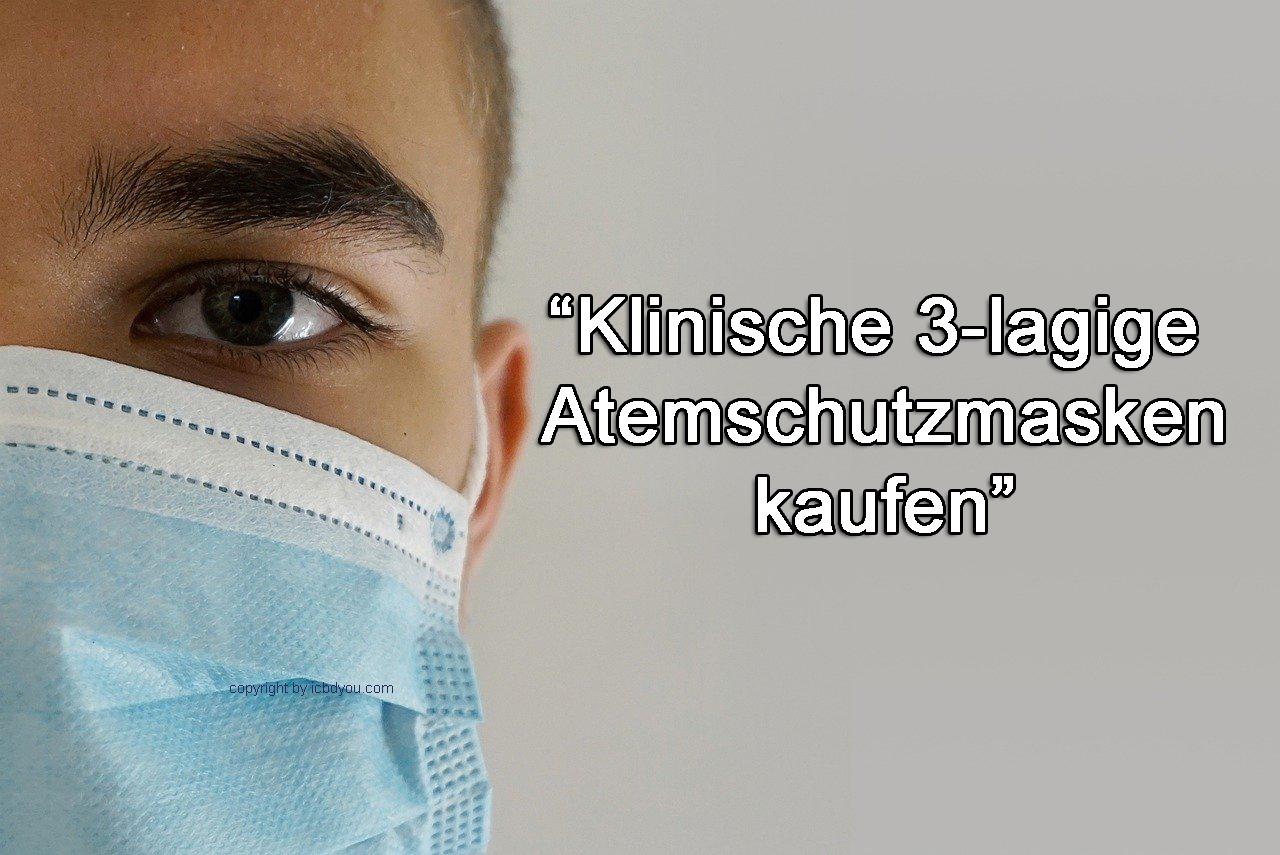 klinische mundschutzmasken